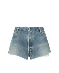 Pantalones cortos vaqueros azules de RE/DONE
