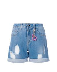 Pantalones cortos vaqueros azules de Twin-Set