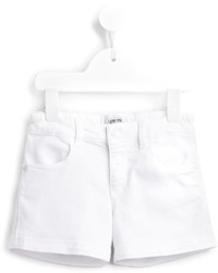 Pantalones cortos vaqueros blancos de Armani Junior