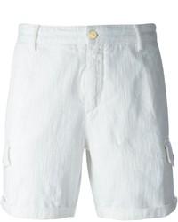 Pantalones Cortos Vaqueros Blancos de Hydrogen