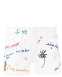 Pantalones cortos vaqueros blancos de Tory Burch