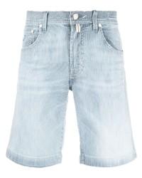Pantalones cortos vaqueros celestes de Jacob Cohen