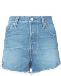 Pantalones cortos vaqueros celestes de Levi's