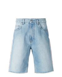 Pantalones cortos vaqueros celestes de MSGM