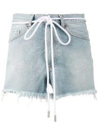 Pantalones Cortos Vaqueros Celestes de Off-White