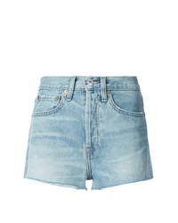 Pantalones cortos vaqueros celestes de RE/DONE