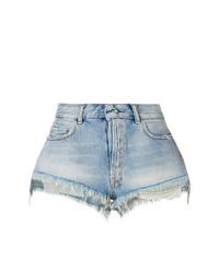 Pantalones cortos vaqueros celestes de Unravel Project