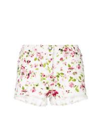 Pantalones cortos vaqueros con print de flores blancos de Faith Connexion