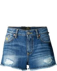 Pantalones cortos vaqueros desgastados azules de Vivienne Westwood