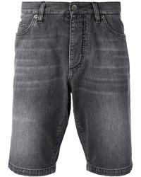 Pantalones cortos vaqueros en gris oscuro de Dolce & Gabbana