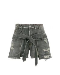 Pantalones cortos vaqueros en gris oscuro de Faith Connexion