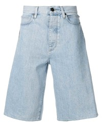 Pantalones cortos vaqueros estampados celestes de Calvin Klein Jeans Est. 1978
