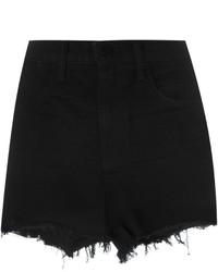 Pantalones cortos vaqueros negros de Alexander Wang
