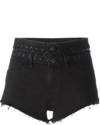 Pantalones Cortos Vaqueros Negros de Diesel