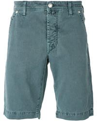 Pantalones Cortos Verde Azulado de Jacob Cohen