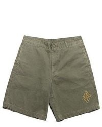 Pantalones cortos verde oliva