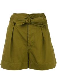 Pantalones cortos verde oliva de Etoile Isabel Marant