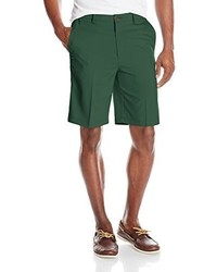 Pantalones cortos verde oscuro de Haggar