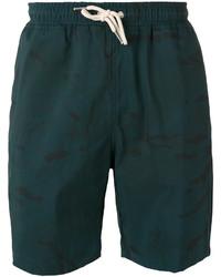 Pantalones cortos verde oscuro de Soulland