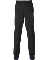 Pantalones de lana en gris oscuro de Paul Smith