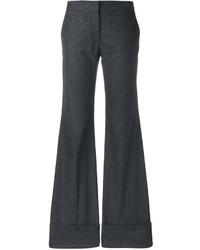 Pantalones de lana en gris oscuro de Stella McCartney