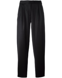 Pantalones de Lana Negros de Moschino
