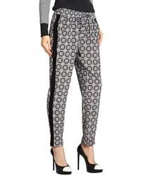 Pantalones de pijama en negro y blanco