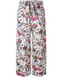 Pantalones de Seda Blancos de Tory Burch
