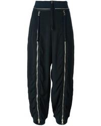 Pantalones de seda negros de Chloé