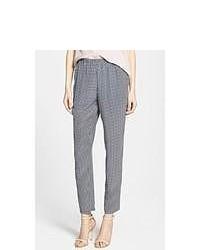Pantalones de seda