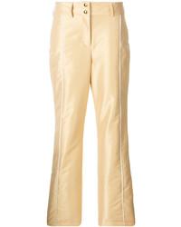 Pantalones Dorados de Fendi