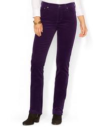 Pantalones morado oscuro