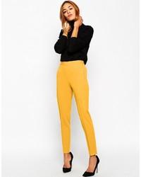 Pantalones mostaza