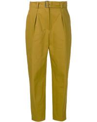 Pantalones mostaza de Kenzo