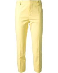 Pantalones pitillo amarillos de Dsquared2