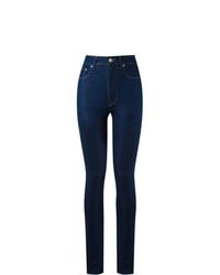 Pantalones pitillo azul marino de Amapô