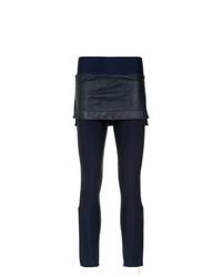 Pantalones pitillo azul marino de Andrea Bogosian