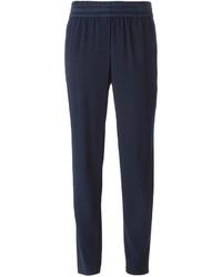 Pantalones pitillo azul marino de DKNY