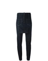Pantalones pitillo azul marino de Maison Martin Margiela Vintage