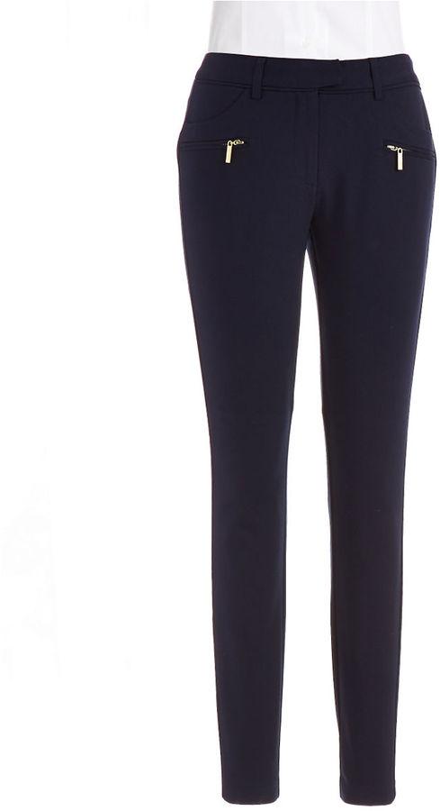 ... Pantalones pitillo azul marino de Ivanka Trump