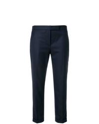 Pantalones pitillo azul marino de Thom Browne