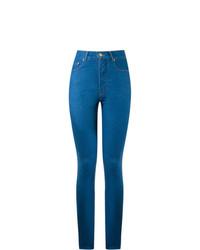 Pantalones pitillo azules de Amapô