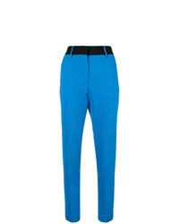 Pantalones pitillo azules de MSGM
