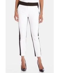 Pantalones pitillo blancos y negros original 4263056