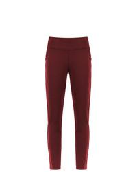 Pantalones pitillo burdeos de Mara Mac