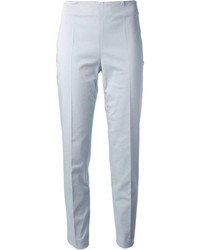 Pantalones pitillo celestes