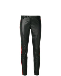 Pantalones pitillo de cuero negros de Faith Connexion