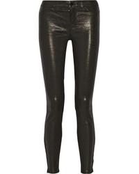 Pantalones pitillo de cuero original 4264225