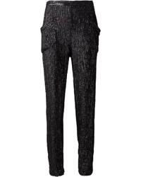 Pantalones pitillo de lentejuelas original 4264306