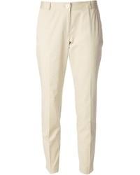 Pantalones pitillo en beige de MICHAEL Michael Kors